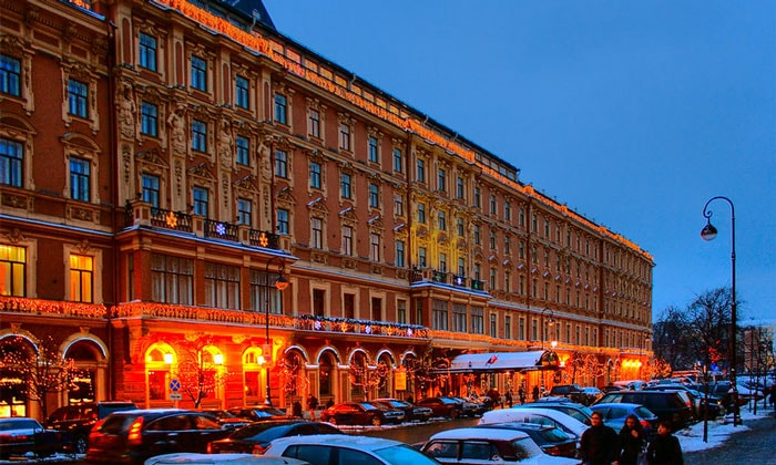 Гранд-отель Европа в Санкт-Петербурге