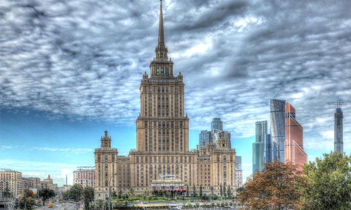 Отель «Radisson Royal» (гостиница Украина) в Москве