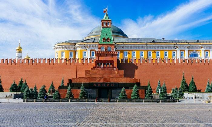 Мавзолей Ленина в Москве
