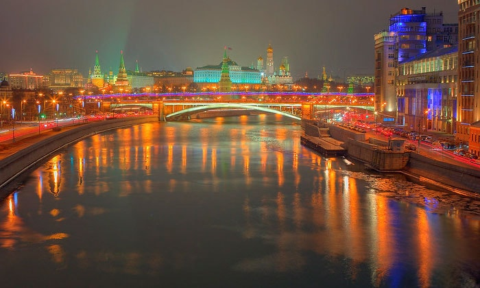 Москва в декабре