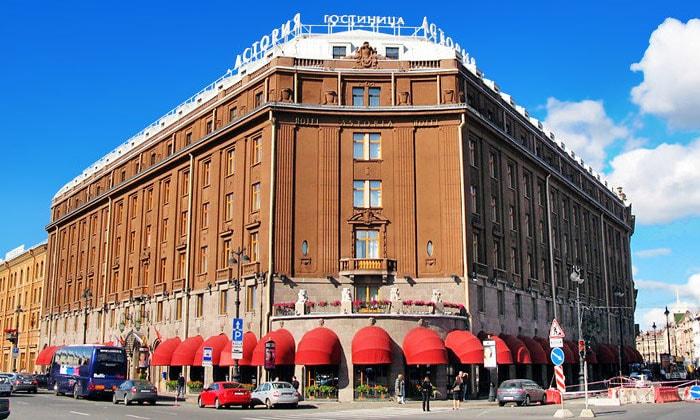 Гостиница Астория в Санкт-Петербурге