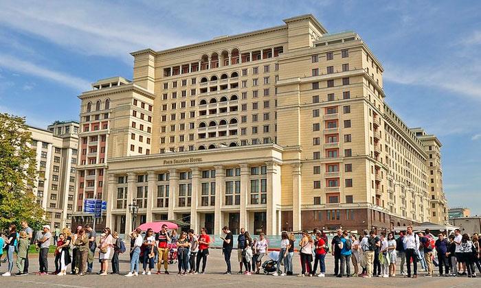 Отель «Four Seasons» (гостиница Москва)
