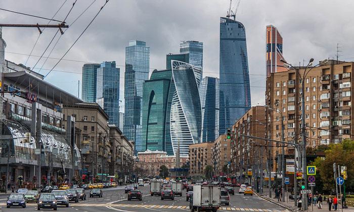 Бизнес район Москва-сити