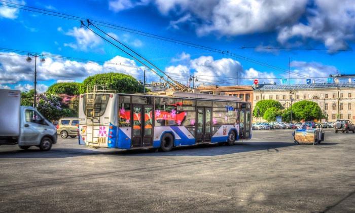 Троллейбус Санкт-Петербурга