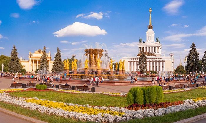 Выставка достижений народного хозяйства (ВДНХ) в Москве