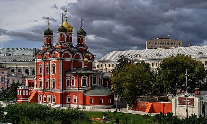 Знаменский собор в Москве