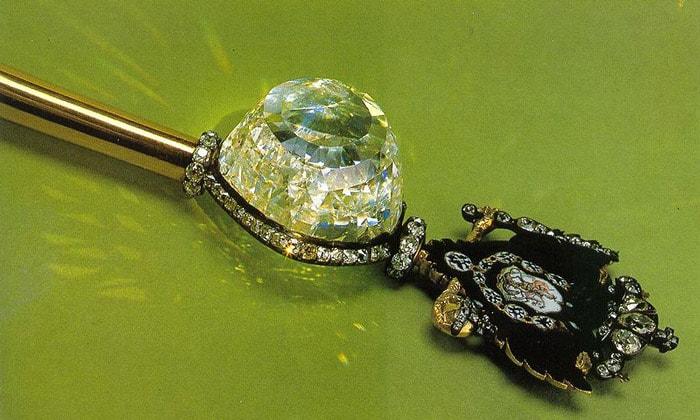 Алмаз «Орлов» в Императорском скипетре
