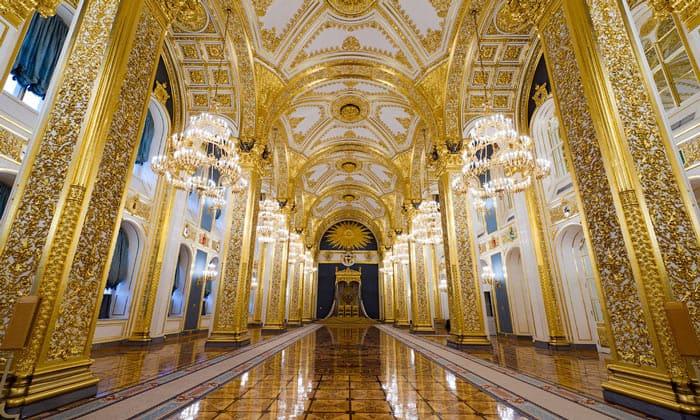 Андреевский зал Большого Кремлёвского дворца