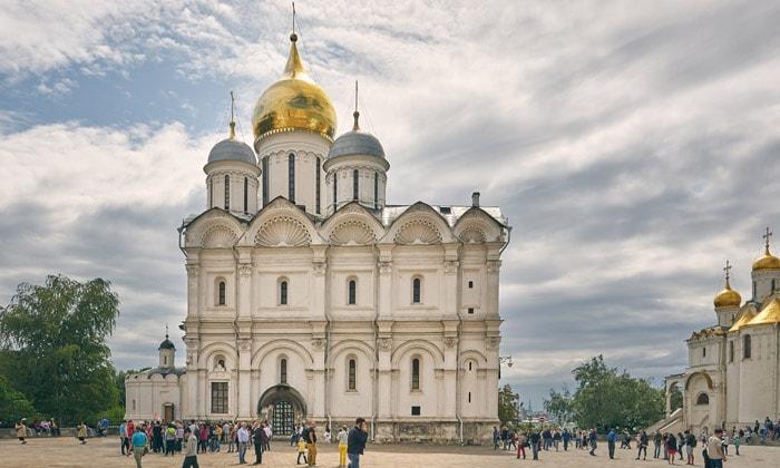 Архангельский собор Кремля в Москве