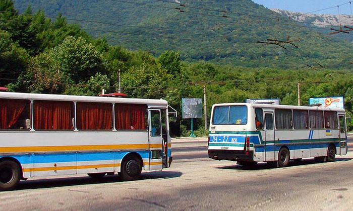 Автобус Симферополь-Ялта