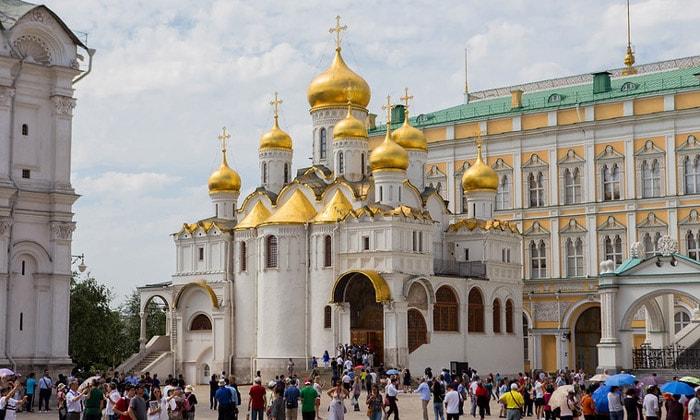 Благовещенский собор Кремля в Москве