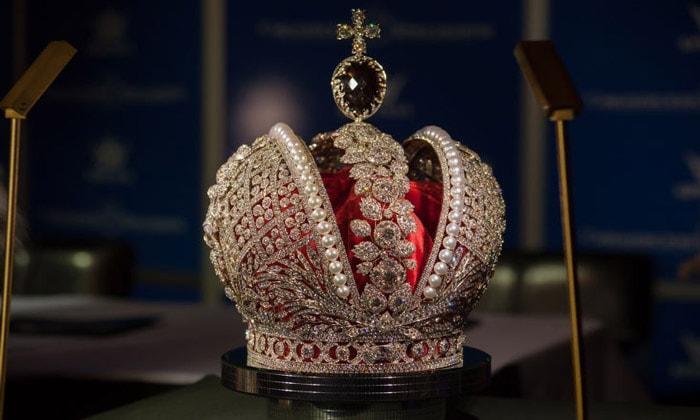 Большая императорская корона Алмазного фонда
