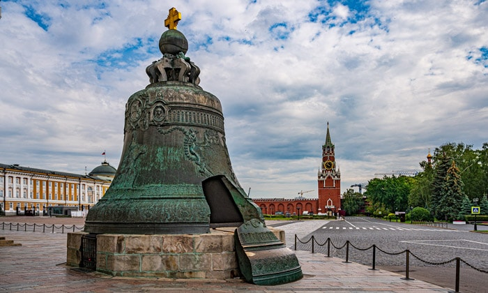 Царь-колокол Кремля в Москве