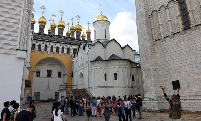 Церковь Ризоположения Кремля