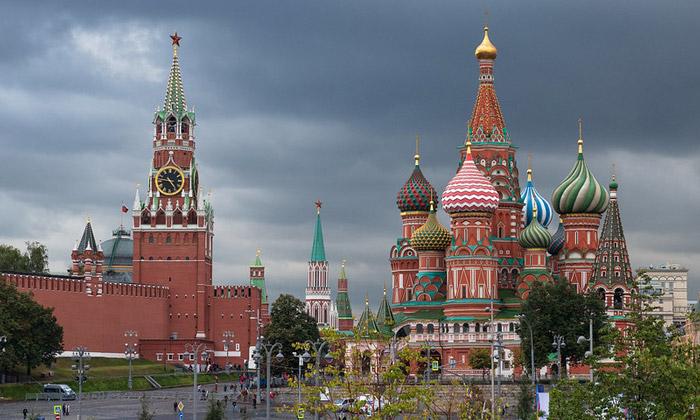 Дивная Красная площадь в Москве