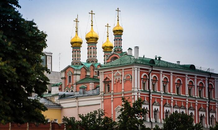 Древний Кремль в Москве