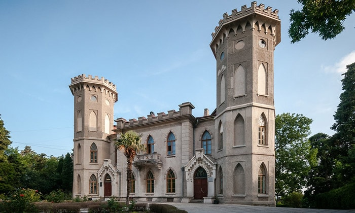 Голицынский дворец в Гаспре