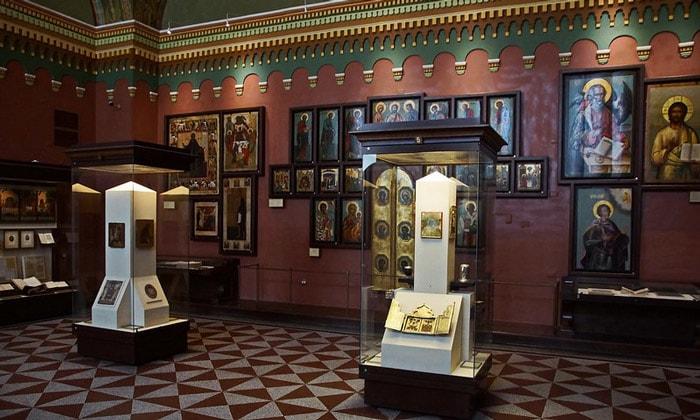 Экспозиция Исторического музея Москвы