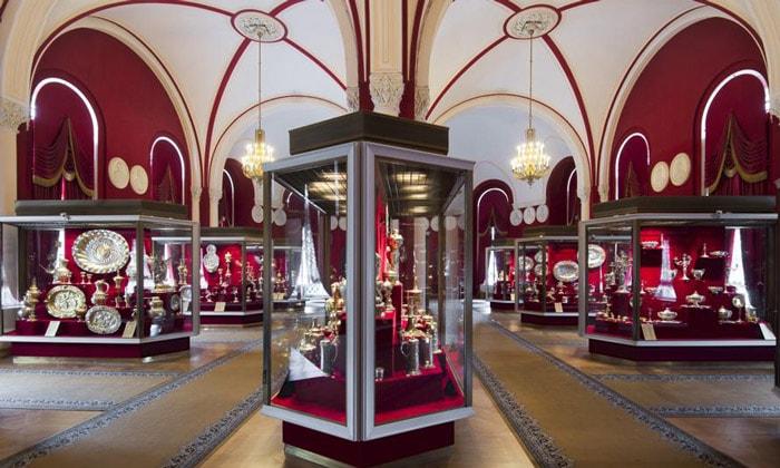Западноевропейское серебро Оружейной палаты
