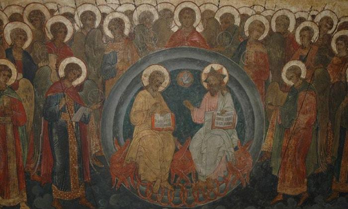 Фреска «Новозаветная Троица» Благовещенского собора Кремля