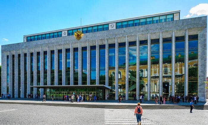 Государственный дворец Кремля в Москве
