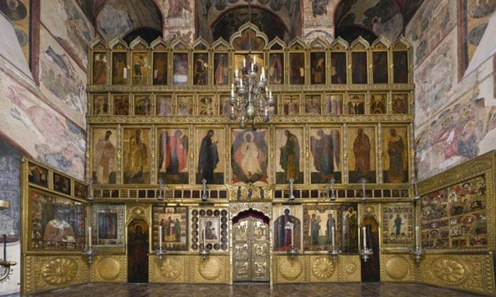 Иконостас Благовещенского собора Кремля