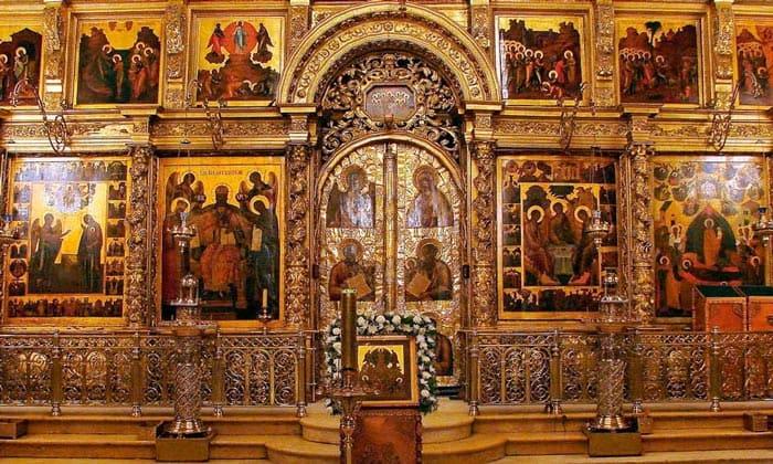 Иконостас Успенского собора Кремля