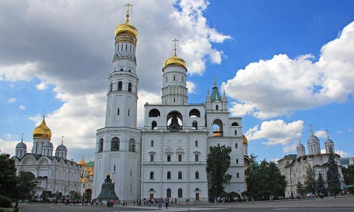 Колокольня Ивана Великого Кремля