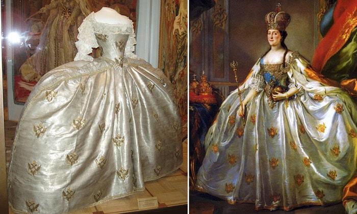 Коронационное платье Екатерины II