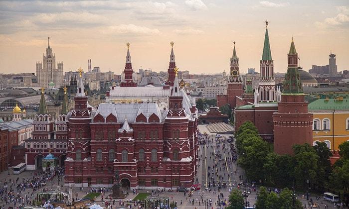 Колорит Красной площади в Москве