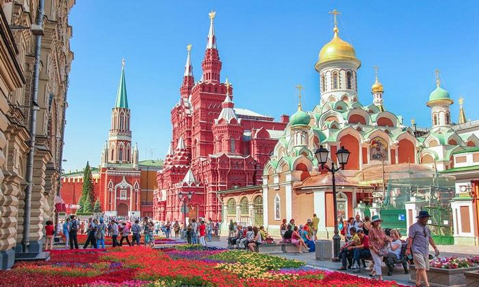 Красоты Красной площади в Москве