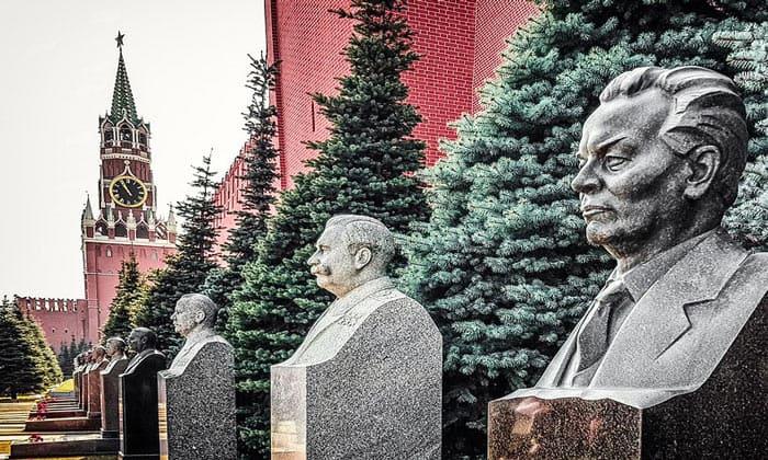 Могилы советских лидеров в Москве