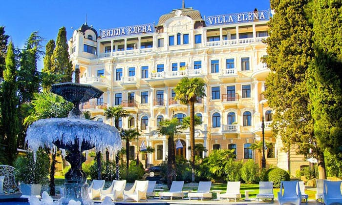 Отель «Вилла Елена» в Ялте