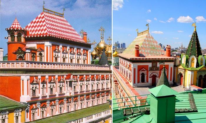 Теремной дворец Кремля в Москве