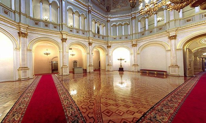 Владимирский зал Большого Кремлёвского дворца