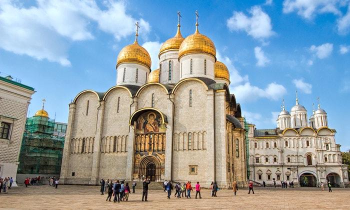 Успенский собор Кремля в Москве