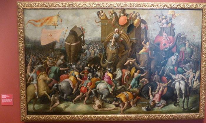 Картина «Битва при Заме» Пушкинского музея Москвы