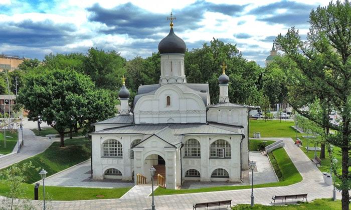 Церковь Зачатия праведной Анны в Москве