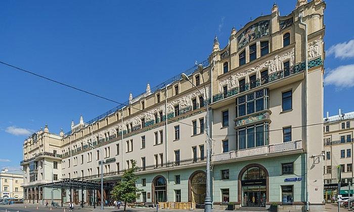Гостиница «Метрополь» в Москве