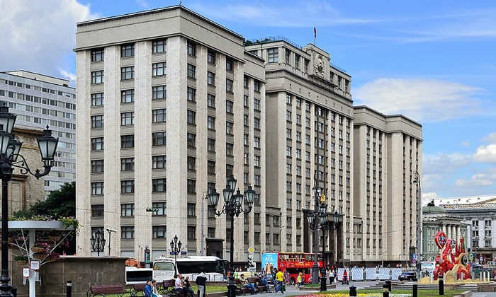 Государственная дума в Москве