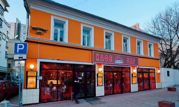 Кафе-бар Sixties в Москве