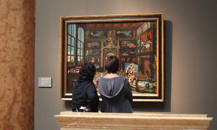 Картина «Интерьер кунсткамеры» Пушкинского музея Москвы