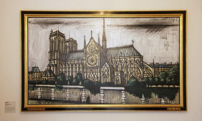 Картина «Нотр-Дам де Пари» музея личных коллекций Москвы