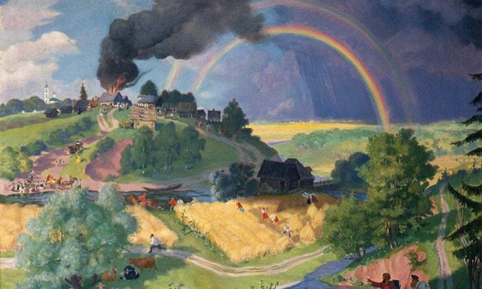 Картина «После грозы» музея личных коллекций Москвы