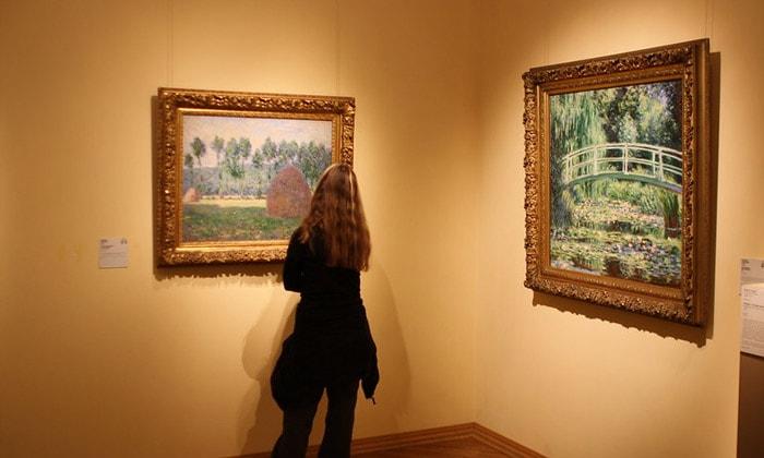 Картины Моне Пушкинского музея Москвы