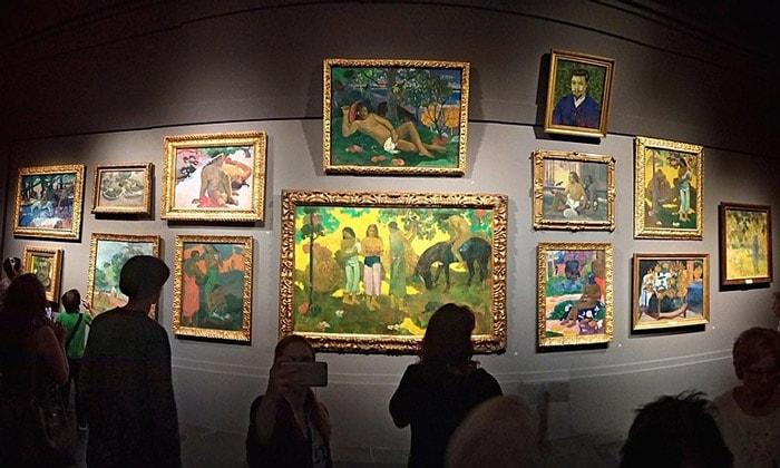 Картины Поля Гогена в Пушкинском музее Москвы
