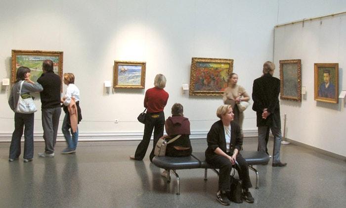 Картины Винсента Ван Гога Пушкинского музея Москвы