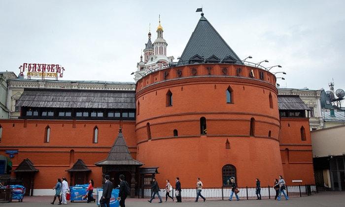 Круглая башня Китай-города в Москве