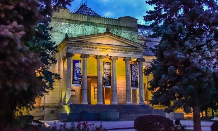 Музей изобразительных искусств имени Пушкина в Москве