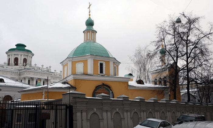 Храм Святителя Николая в Старом Ваганькове Москвы